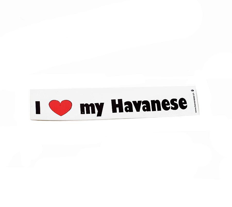 Havaneser-Aufkleber-I-Love-My-Havanese