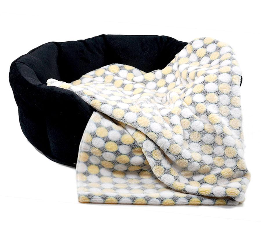 Hunde-Decke-Wellness-Fleece-grau-gelb-01