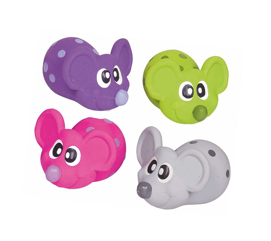 Hunde-Spielzeug-Latex-Maus