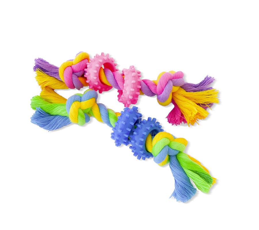 Welpen-Spielzeug-Puppy-Toy-Seil-mit-Gummi-a